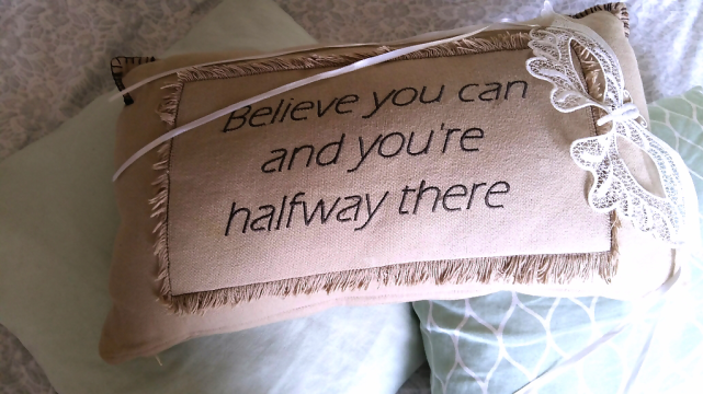 pillow-believe